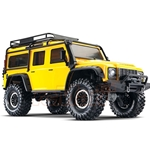 TRX-4 Scale and Trail Crawler with Land Rover Defender Body 4WD - Yellow