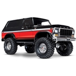 TRX-4 Scale and Trail Crawler w/Ford Bronco Body - Red