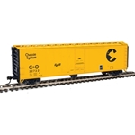 50' PC&F Insulated Boxcar - Chessie System 22722