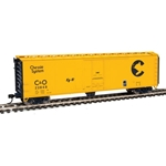 50' PC&F Insulated Boxcar - Chessie System 22848