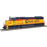 EMD SD50 - ESU(R) Sound and DCC -- Chessie System B&O #8583 (yellow, blue, orange)