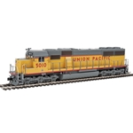 EMD SD50 - ESU(R) Sound and DCC -- Union Pacific(R) #5010 (yellow, gray, red)
