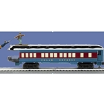 Polar Express Skiing Hobo Observation Car - White Roof