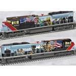"Legacy SD70AH Diesel Locomotive ""Union Pacific - Powered by our People"" #1111 w/ Bluetooth"