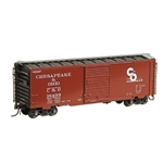 #5023 HO Scale Chesapeake & Ohio C&O #18499 - RTR 40' PS-1 Boxcar