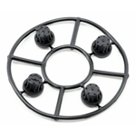 AX8079 Hub Cover Set Black (4)