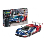 1/24 Ford GT LeMans 2017 Race Car w/special Cartograf decals