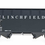 InterMountain 2-Bay Open Top Hopper - Clinchfield