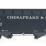 InterMountain 2-Bay Open Top Hopper - C&O