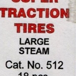 Calumet Traction Tires Large Steam