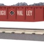 30-72118 MTH Railking Lehigh Valley Gondola Car w/Junk