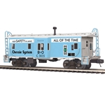 20-91432 MTH Premier Bay Window Caboose Chessie System