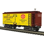 20-94379 MTH Premier 36' Woodsided Reefer Car - Jelke Good Luck Margarine
