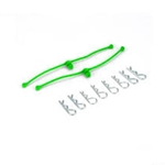 Body Klip Retainers Lime Green (2)