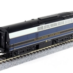 Broadway Limited Imports HO 4062 Baldwin Sharknose RF-16B, B&O #857X (Paragon2 Sound)