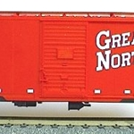 Accurail HO GN (Red) 40' AAR Box