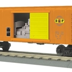 MTH Rounded Roof Box Car w/Generator