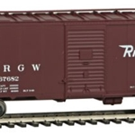 Denver & Rio Grande Western(TM) #67682 (Boxcar Red, Flying Rio Grande Logo)