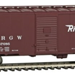 Denver & Rio Grande Western(TM) #67686 (Boxcar Red, Flying Rio Grande Logo)