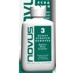 Novus Plastic  Heavy Scratch Remover  2oz  Bottle