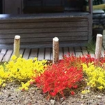 Bachmann 6mm Grass Tufts, Yellow & Red (100)