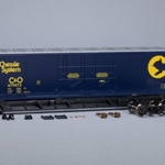 1007 Evans 5100 RBL 8' Double-Plug-Door Boxcar, Chessie System C&O #479573