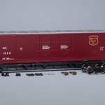 Scale Trains SXT1028  HO Evans (USRE) 5100 RBL 8' Double-Plug-Door Boxcar, Wisconsin Central