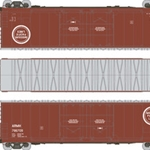 Scaletrains.com Evans 8' Dbl Plug Box - Missouri Pacific