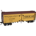 Atlas 36' Wood Reefer w/Truss Rods - Frigicar
