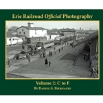 **FREE SHIPPING** Erie Railroad Official Photography Volume 2: C to F (Softcover)