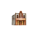 785-4944 Woodland Scenics Co Theatre w/Lights - Built & Ready Landmark Structures(R)