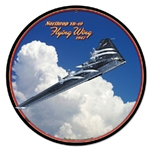 Northrop Flying Wing Metal Sign