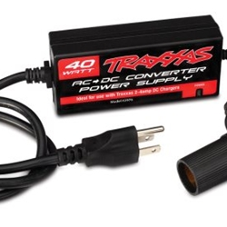 2976 Traxxas AC to DC Adapter, 40W