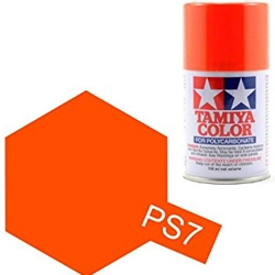 86007 PS-7 Polycarb Spray Orange 3 oz
