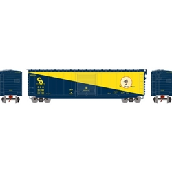 50' PS-1 Single Door Box, C&O #21299