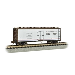 BACHMANN 19855 N 40' Wood Side Reefer, Pure Carbonic