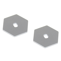 Metal Slipper Plate (2pcs)