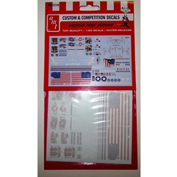 1/25 American Pride Graphics Decals