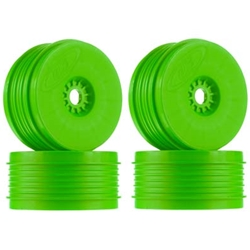 DER-PSB-8G Speedline Plus Buggy Wheels 1/8 Buggy Green